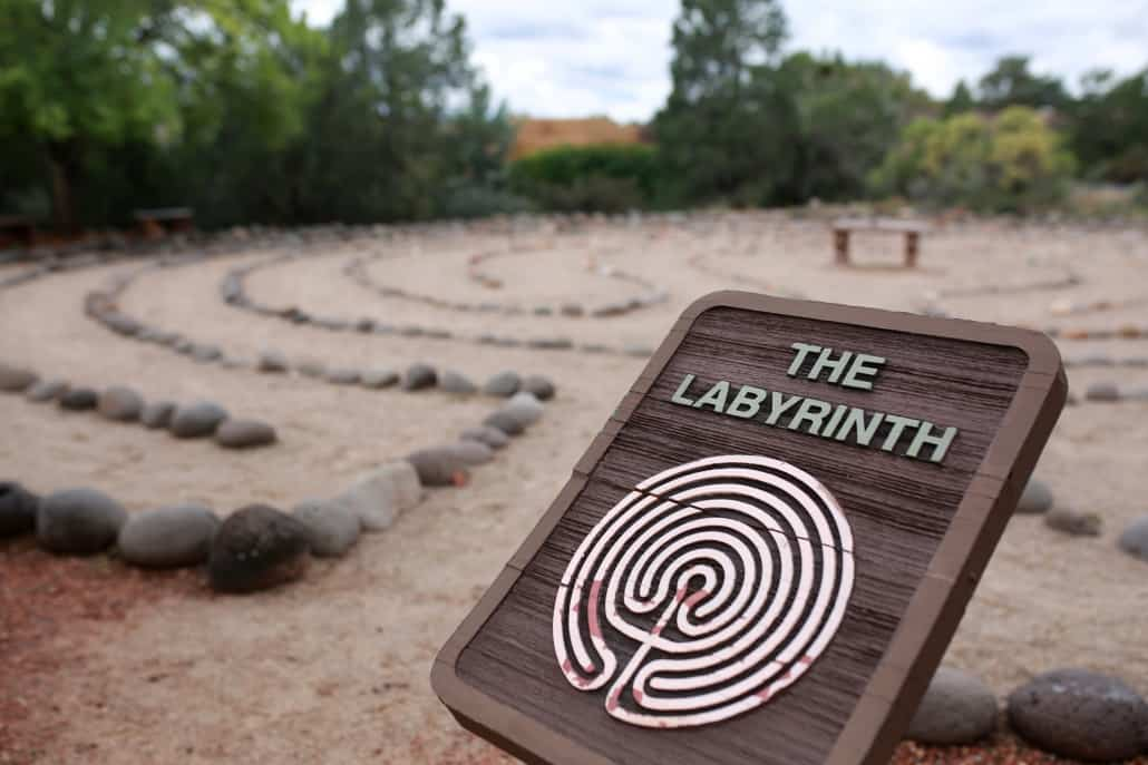 Labryinth at Gerson Retreat Facilities